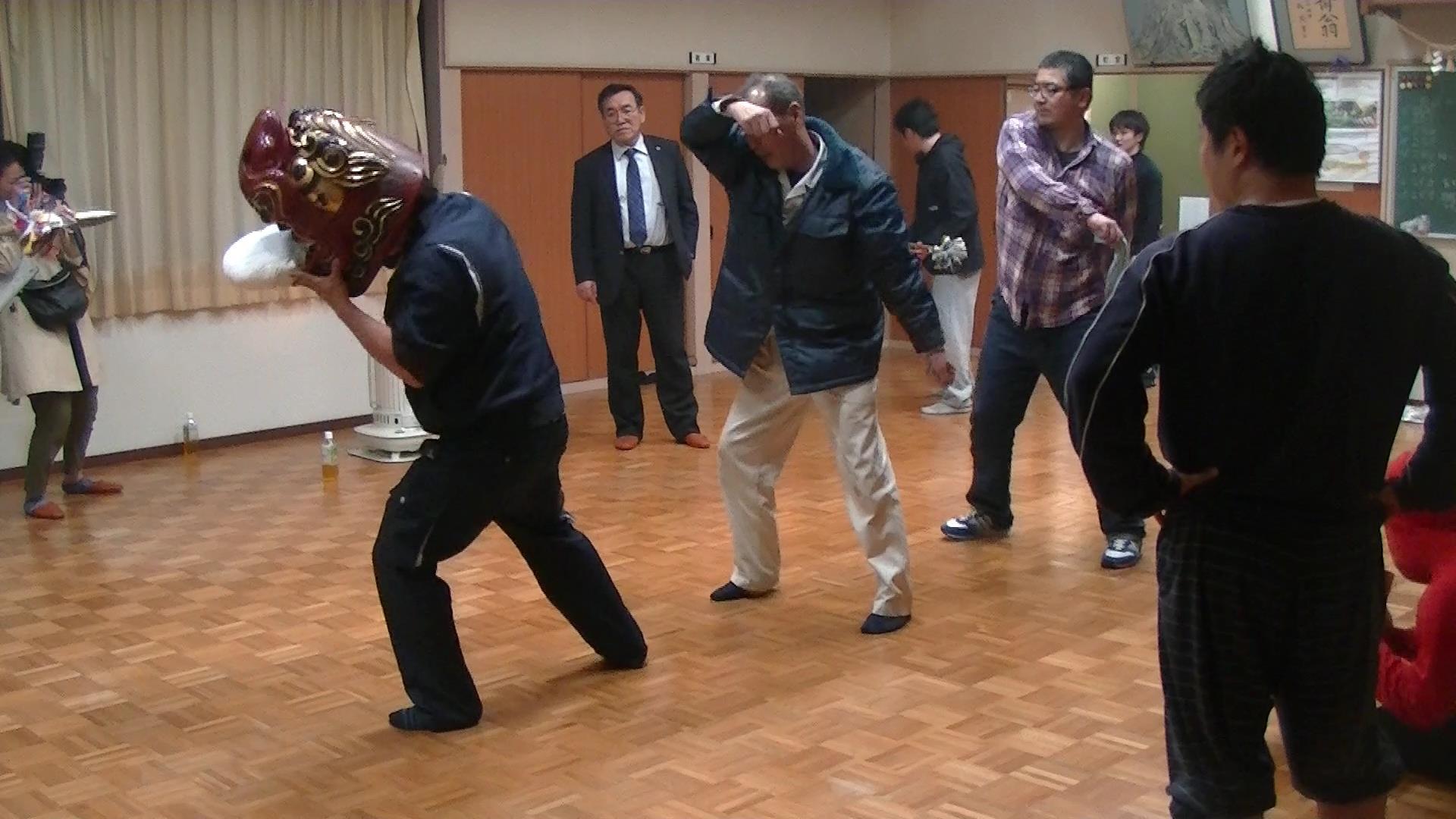 160412_獅子舞練習